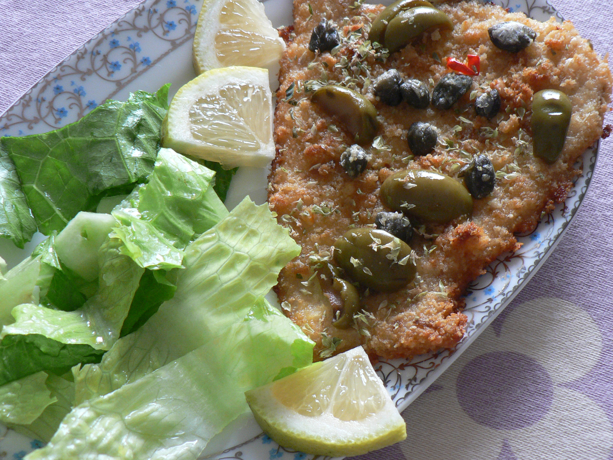 Pesce Spada Impanato Al Forno Ricetta Secondo Noi Due In Cucina